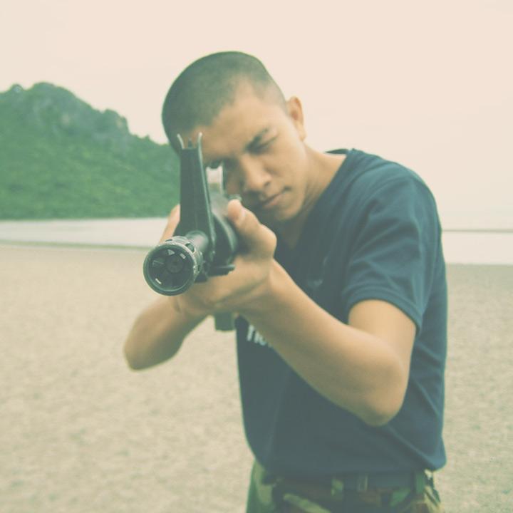 ข้าพเจ้าสมัยเป็นทหาร (ถ่ายโดย @ohaeey)